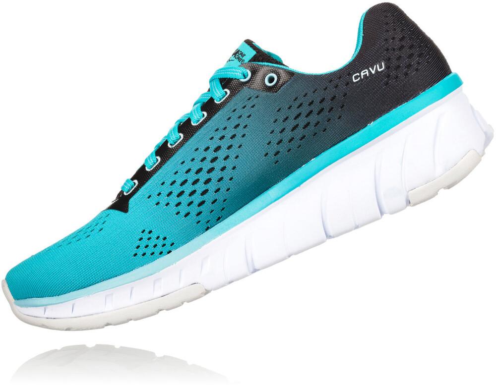 Hoka One One Cavu - Chaussures running Femme - noir/turquoise US 8,5